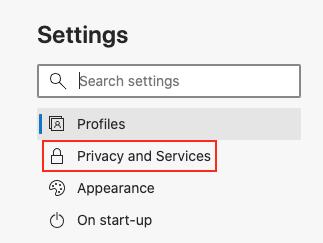 Sådan deaktiveres sletning af browserhistorik på Microsoft Edge