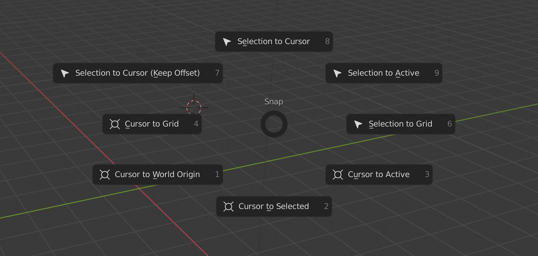 So setzen Sie den 3D-Cursor auf Blender 3D zurück
