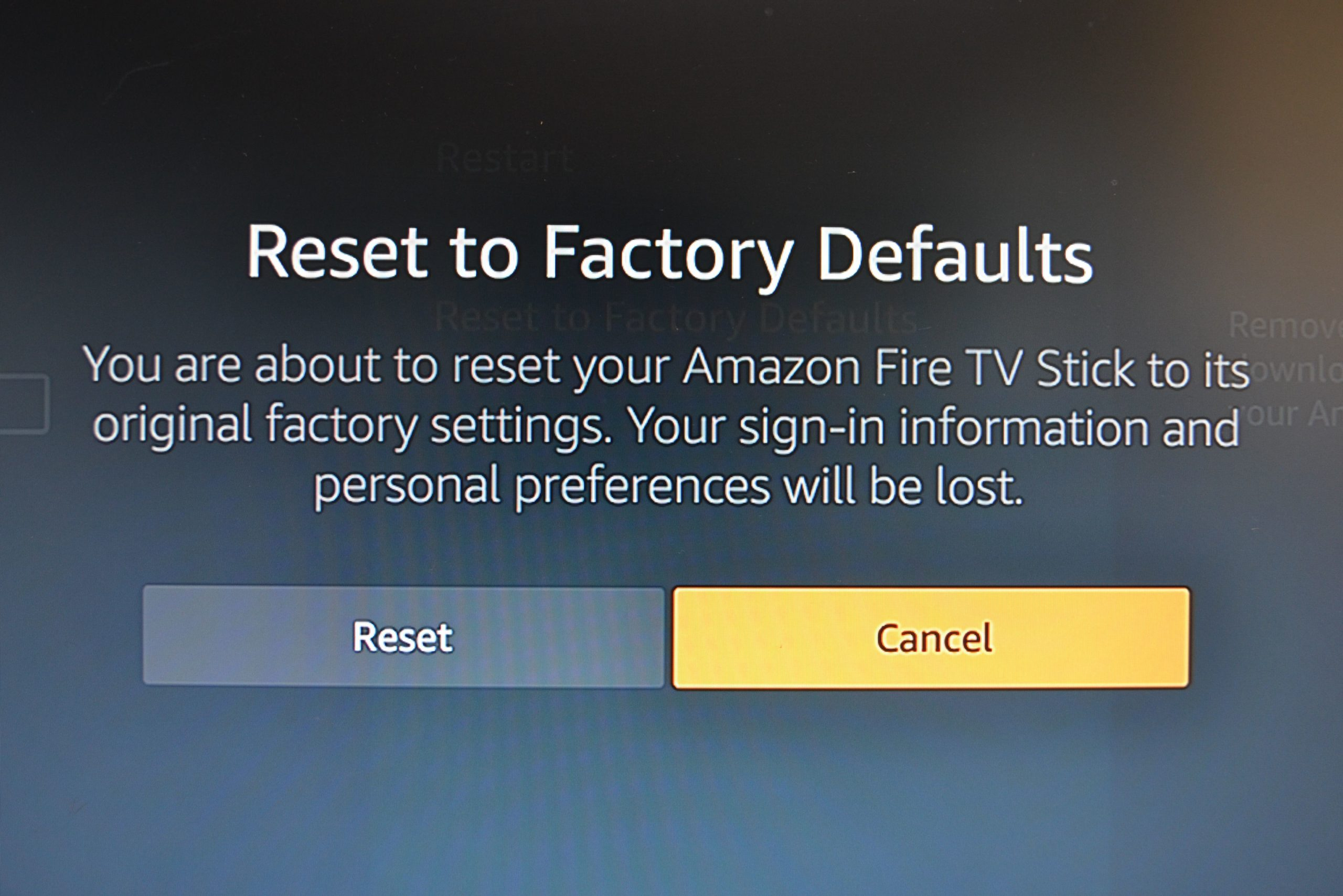 3 BEST ways to factory reset Amazon Fire TV Stick