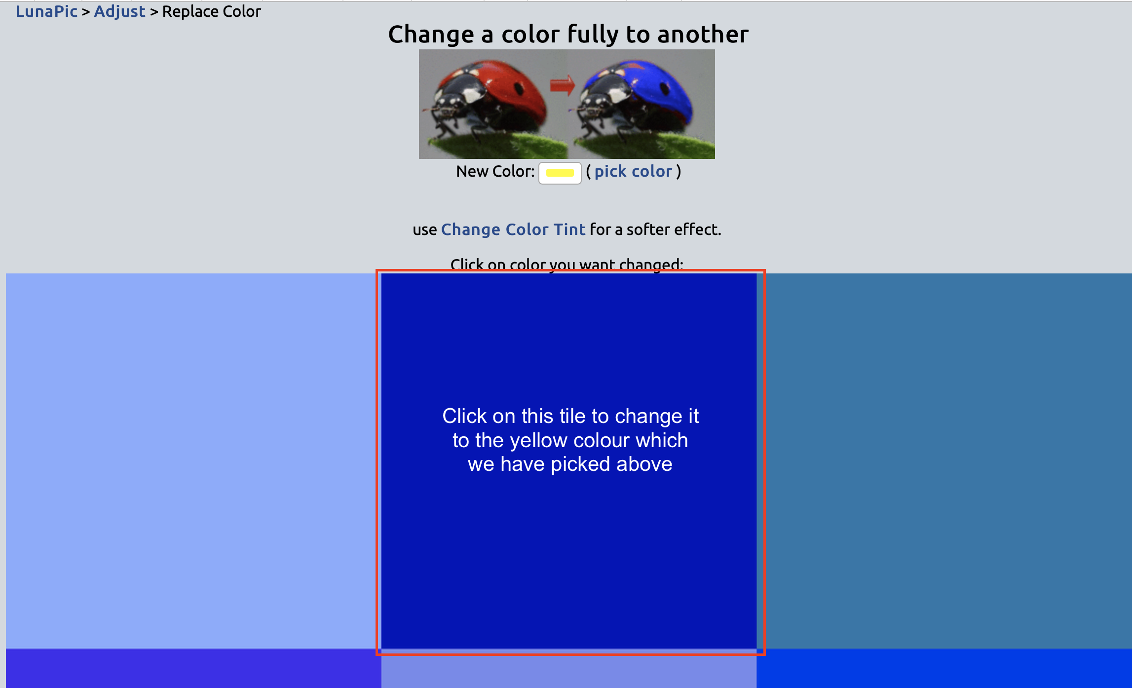 The BEST website to Recolour your images online