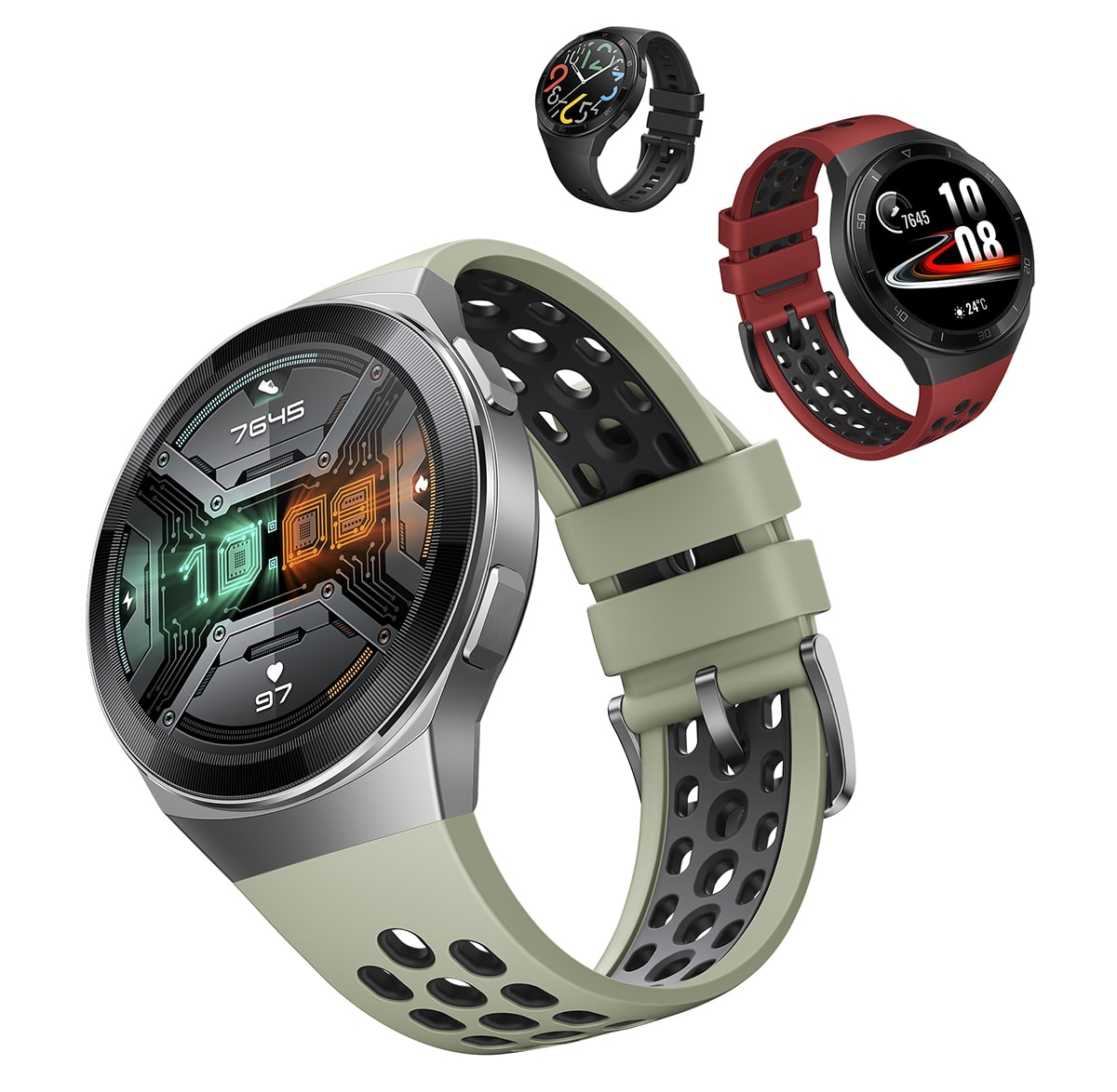 HUAWEI WATCH GT 2e Debuts with 2 week long battery life.