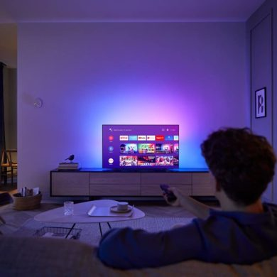Philips OLED 804 TV takes viewing experience beyond the screen