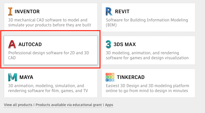 How much does AutoCAD software cost?