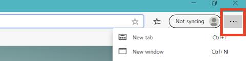 Microsoft Edge browser ပေါ်ရှိ cache ကိုဘယ်လိုရှင်းလင်းမလဲ