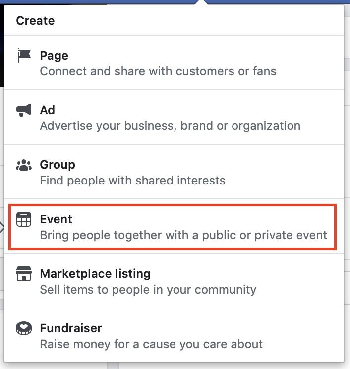 So erstellen Sie eine Veranstaltung auf Facebook