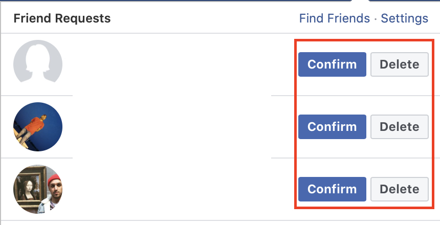 Cadeia do Facebook
