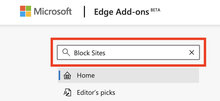 Como bloquear sites no Microsoft Edge