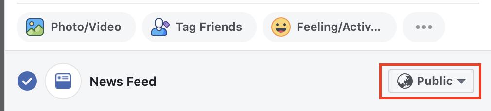 Sådan synliggør du dit indlæg for bare venner på Facebook