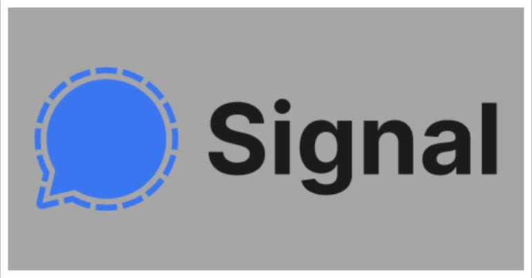 signal messaging app