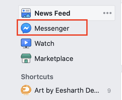 How to delete conversations on Facebook