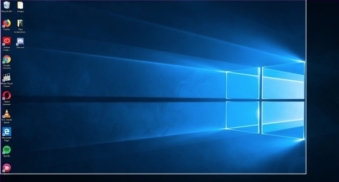 How to take screenshot of only one monitor on Windows 10