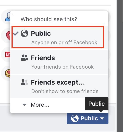 फेसबुक पर अपनी पोस्ट को कैसे साझा करें