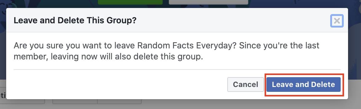 फेसबुक पर ग्रुप को कैसे डिलीट करें