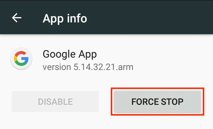 How to fix the Google Search not working error on Android