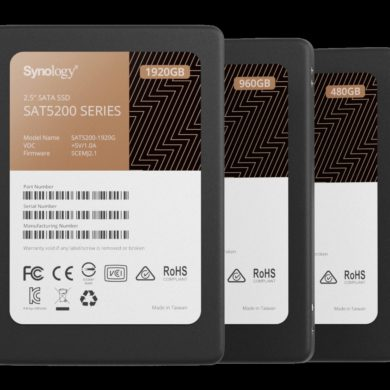 Synology Introduces SSD Lineup for High Performance and Reliability