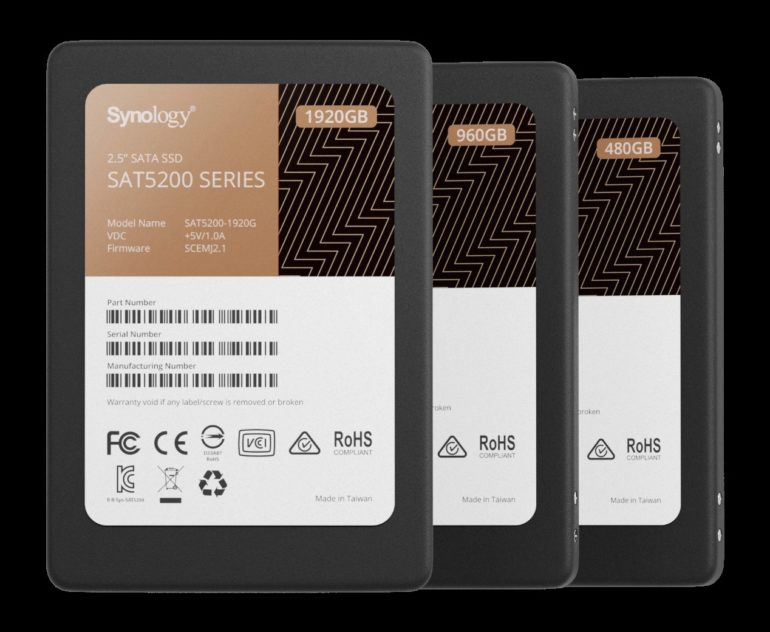 Synology introducerer SSD Lineup for høj ydelse og pålidelighed