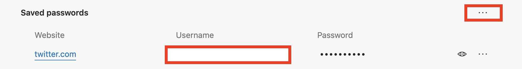 သိမ်းဆည်းထားသောစကားဝှက်များကို Microsoft Edge တွင်တင်ပို့နည်း