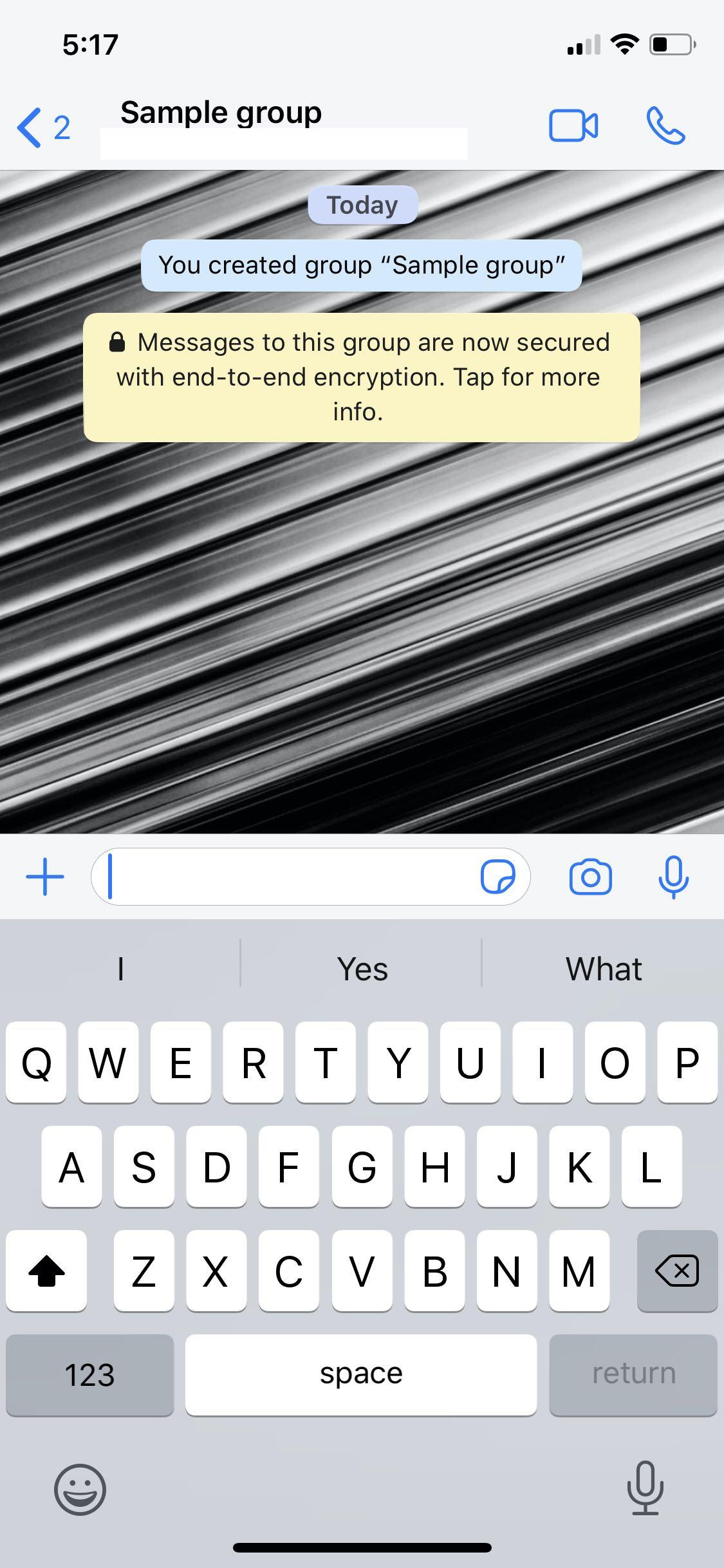 cara menghapus grup di whatsapp
