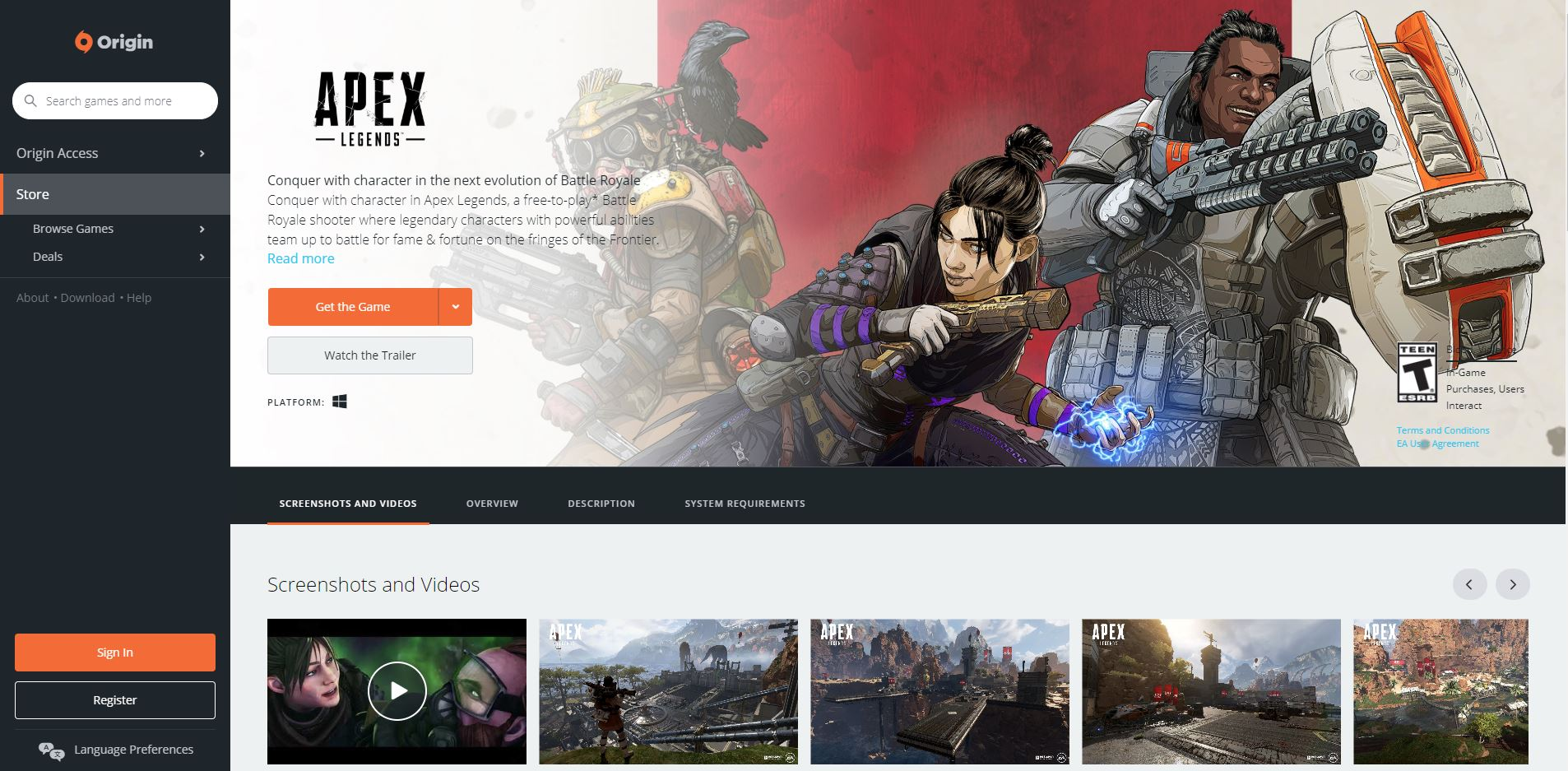 How to fix the Apex Legends failed to launch error