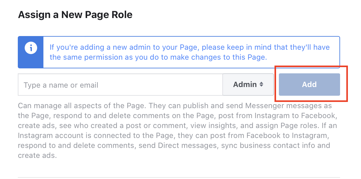 Sådan føjes en administrator til en Facebook-side