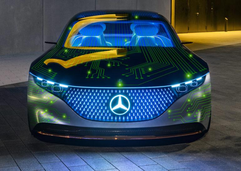 Mercedes-Benz og NVIDIA bygger softwaredefineret databehandlingsarkitektur til automatisk kørsel
