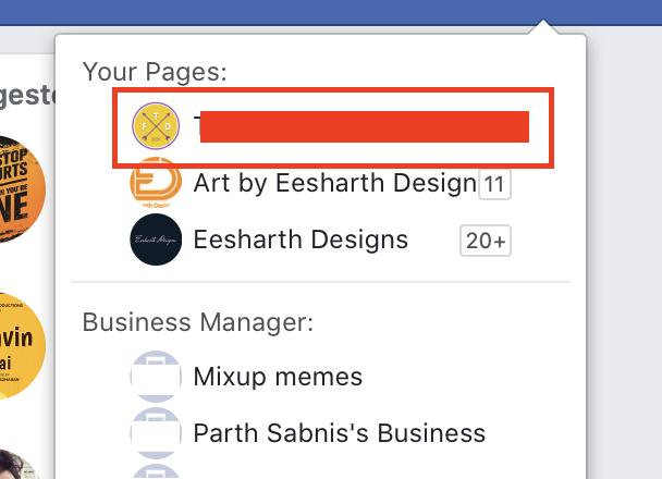 So löschen Sie eine Seite auf Facebook