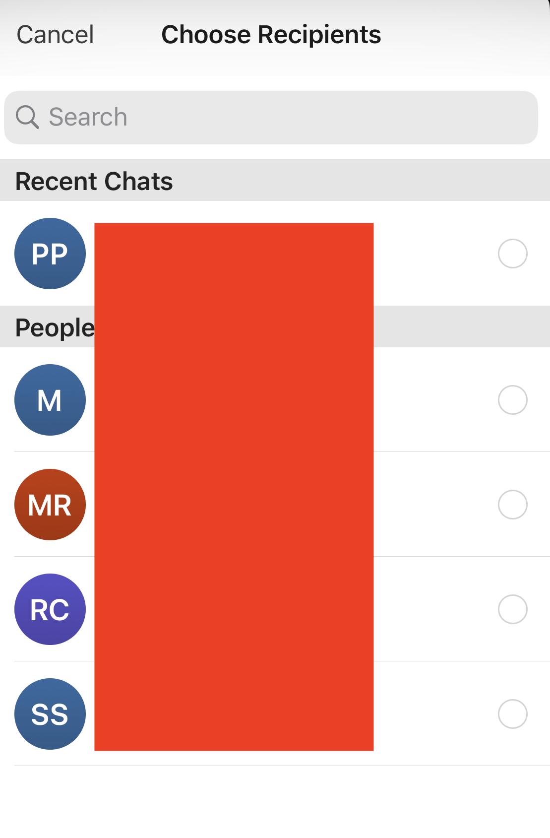 Bagaimana cara meneruskan pesan pada aplikasi Signal Messaging?