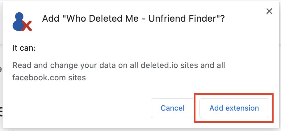 So finden Sie auf Facebook heraus, wer Sie nicht befreundet hat