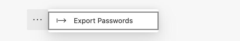 So exportieren Sie gespeicherte Kennwörter in Microsoft Edge