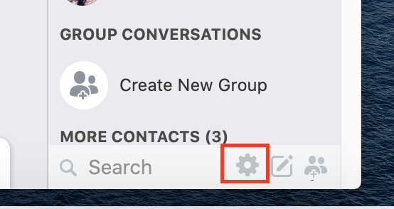 como aparecer offline no Facebook