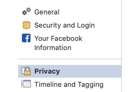 make your account private on facebook