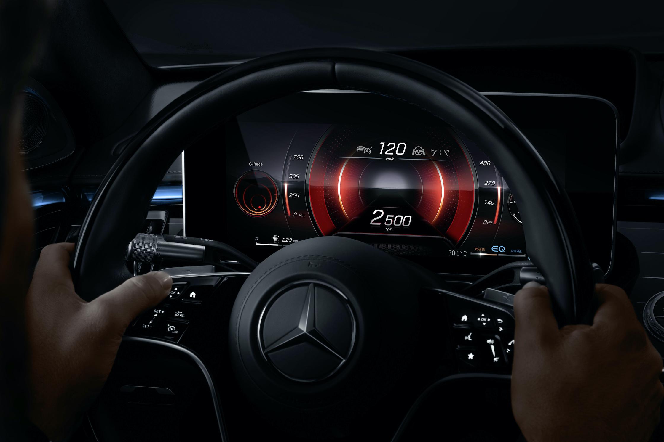 """Lernen Sie die S-Klasse DIGITAL kennen: """"My MBUX"""" (Mercedes-Benz User Experience)"""