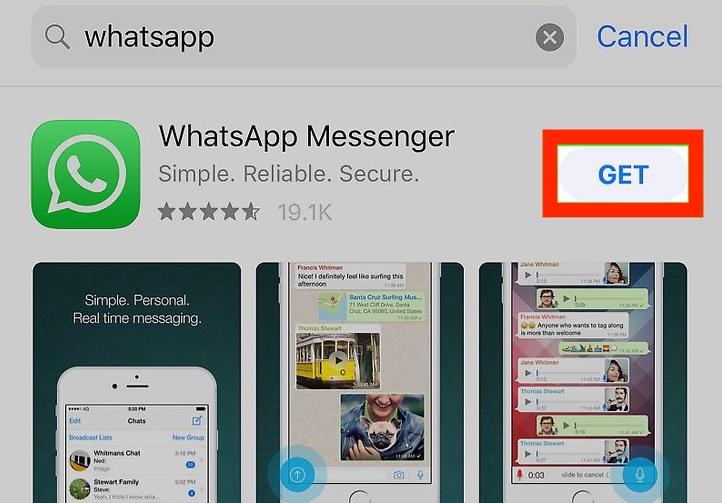 Whatsapp ကို download လုပ်နည်း