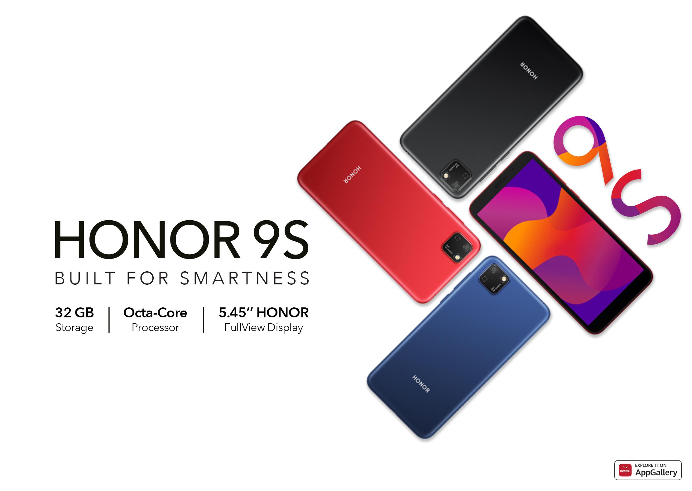 Budget-Friendly စမတ်ဖုန်း HONOR 9S ကို HONOR စတင်မိတ်ဆက်