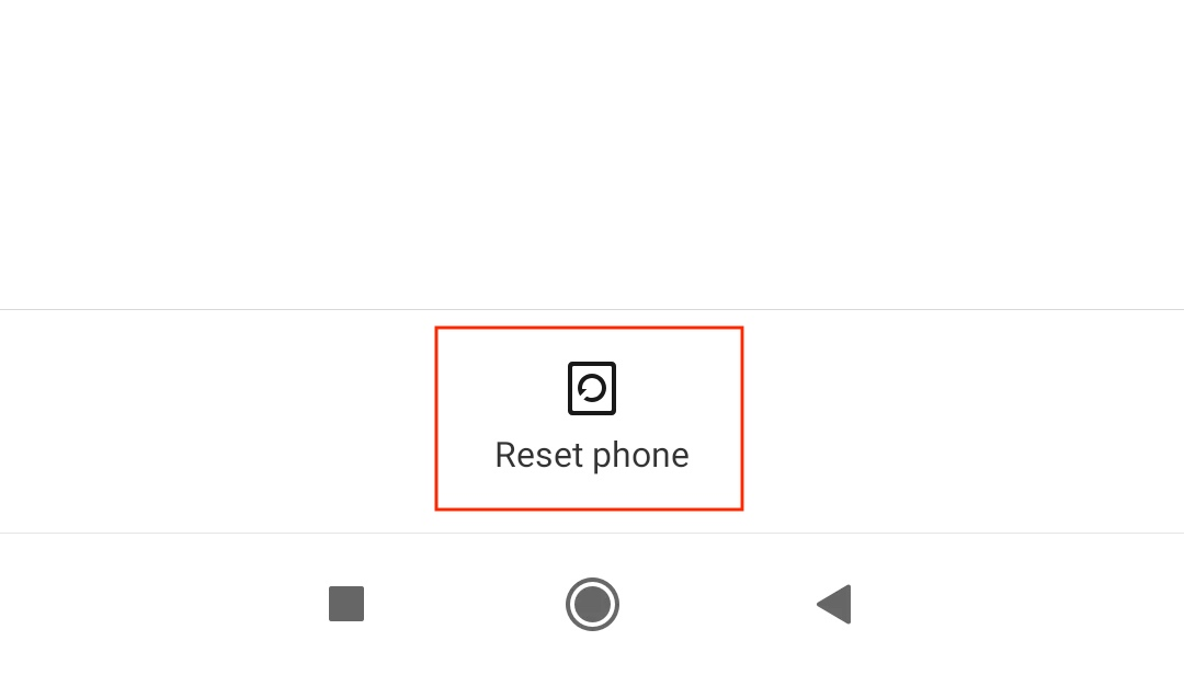 एंड्रॉइड स्मार्टफोन को कैसे रीसेट करें