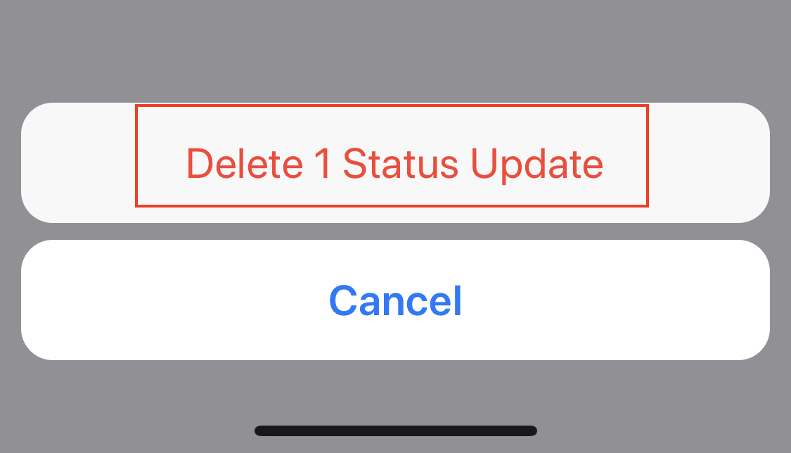 How to delete your Status on WhatsApp