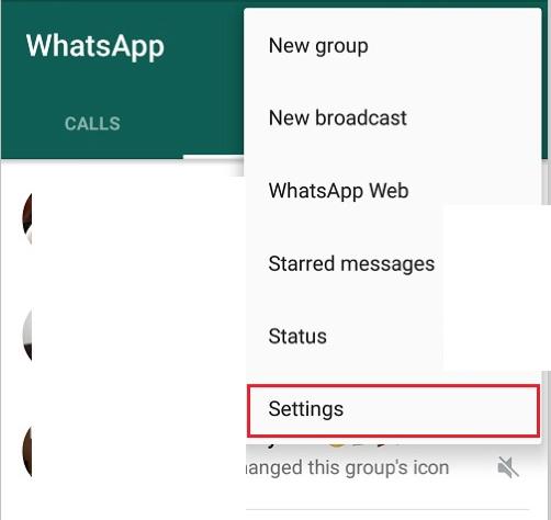 Kako promijeniti jezik na Whatsappu