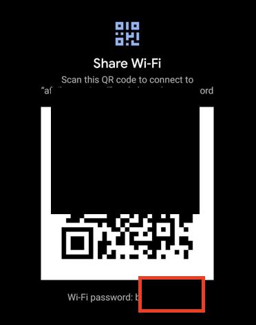 Sådan finder du Wifi-adgangskoden på Android
