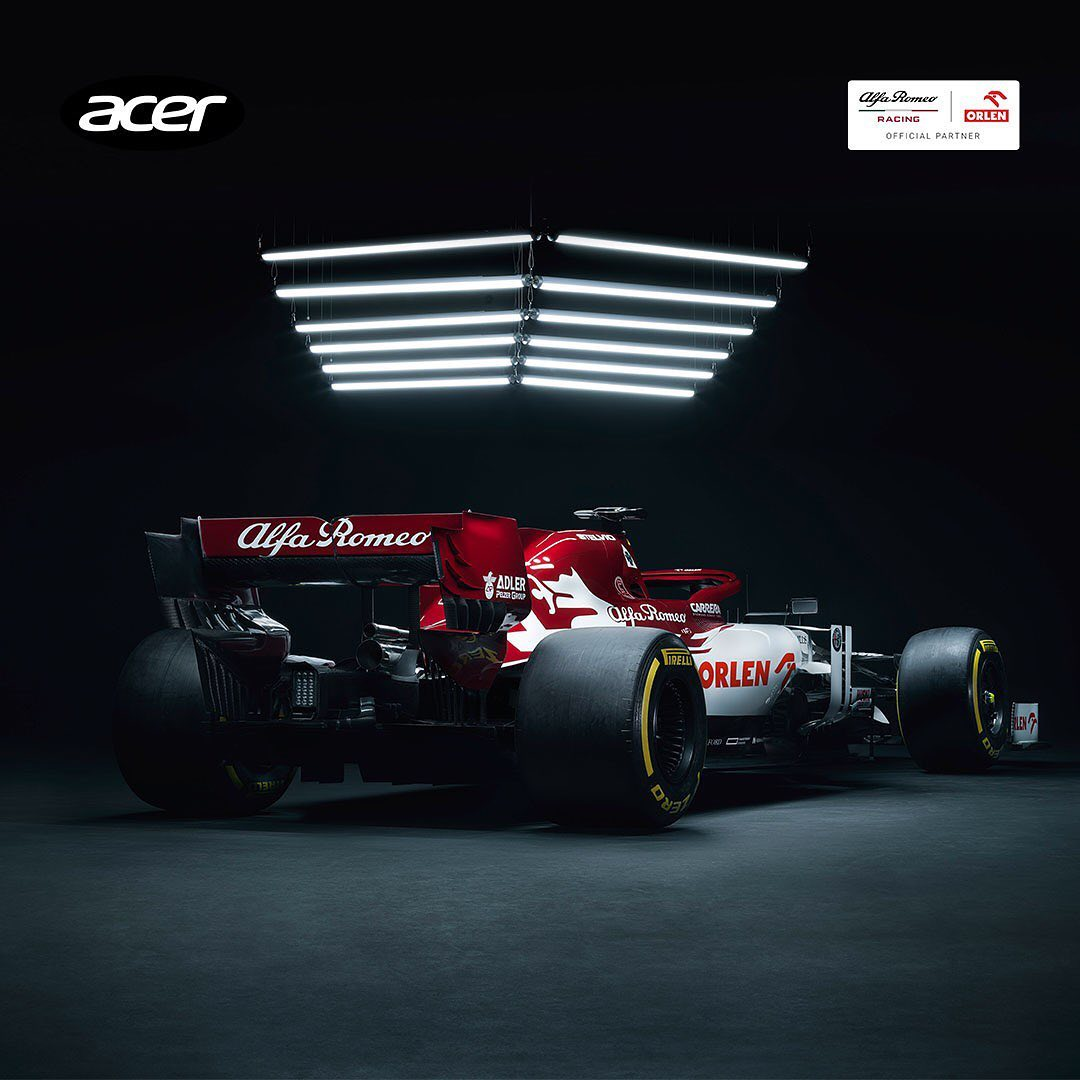 Alfa Romeo Racing ORLEN နှင့် Acer သည်ဆန်းသစ်တီထွင်မှုများကိုတွန်းအားပေးနေသည်