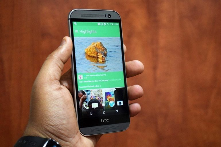 HTC One (M8) Review.