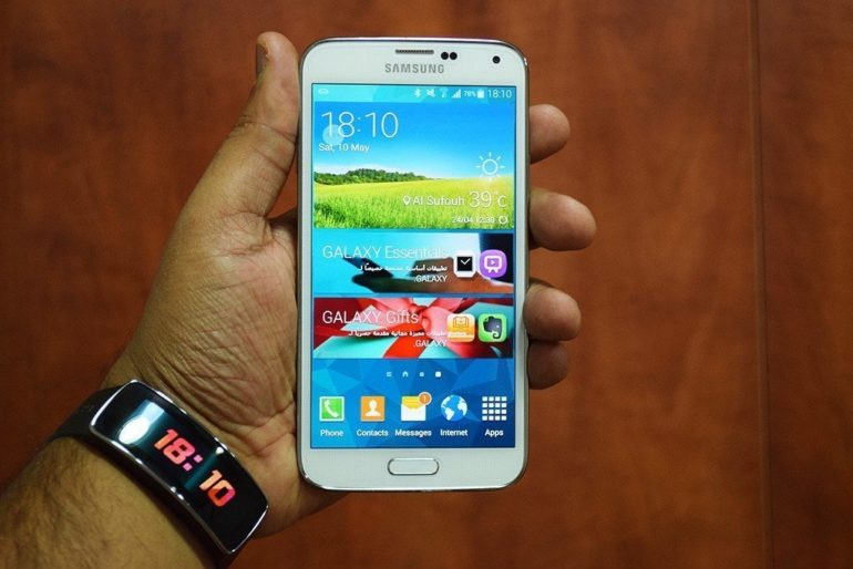Samsung Galaxy S5 Unboxing.