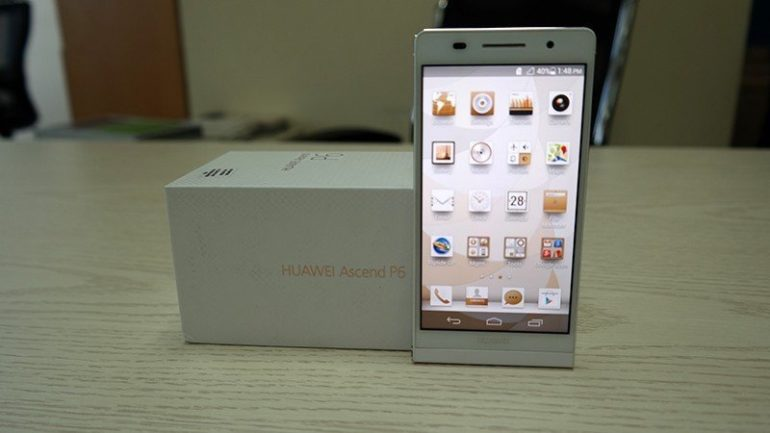 Huawei Ascend P6 Unboxing.
