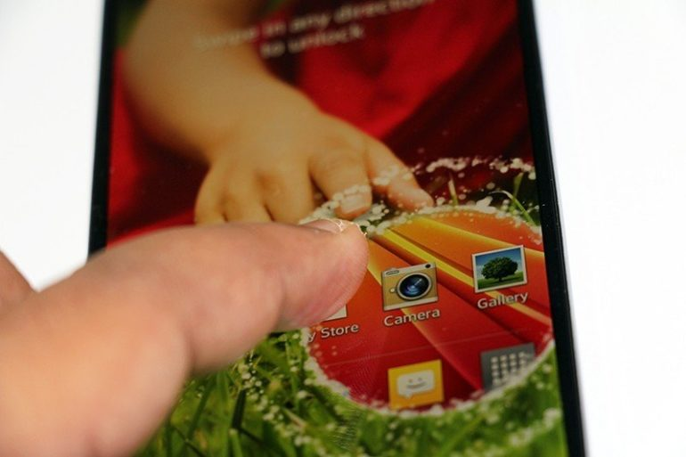 LG G2 Unboxing. [Image Gallery]