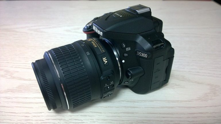 Nikon D5300 Unboxing [Image Gallery].