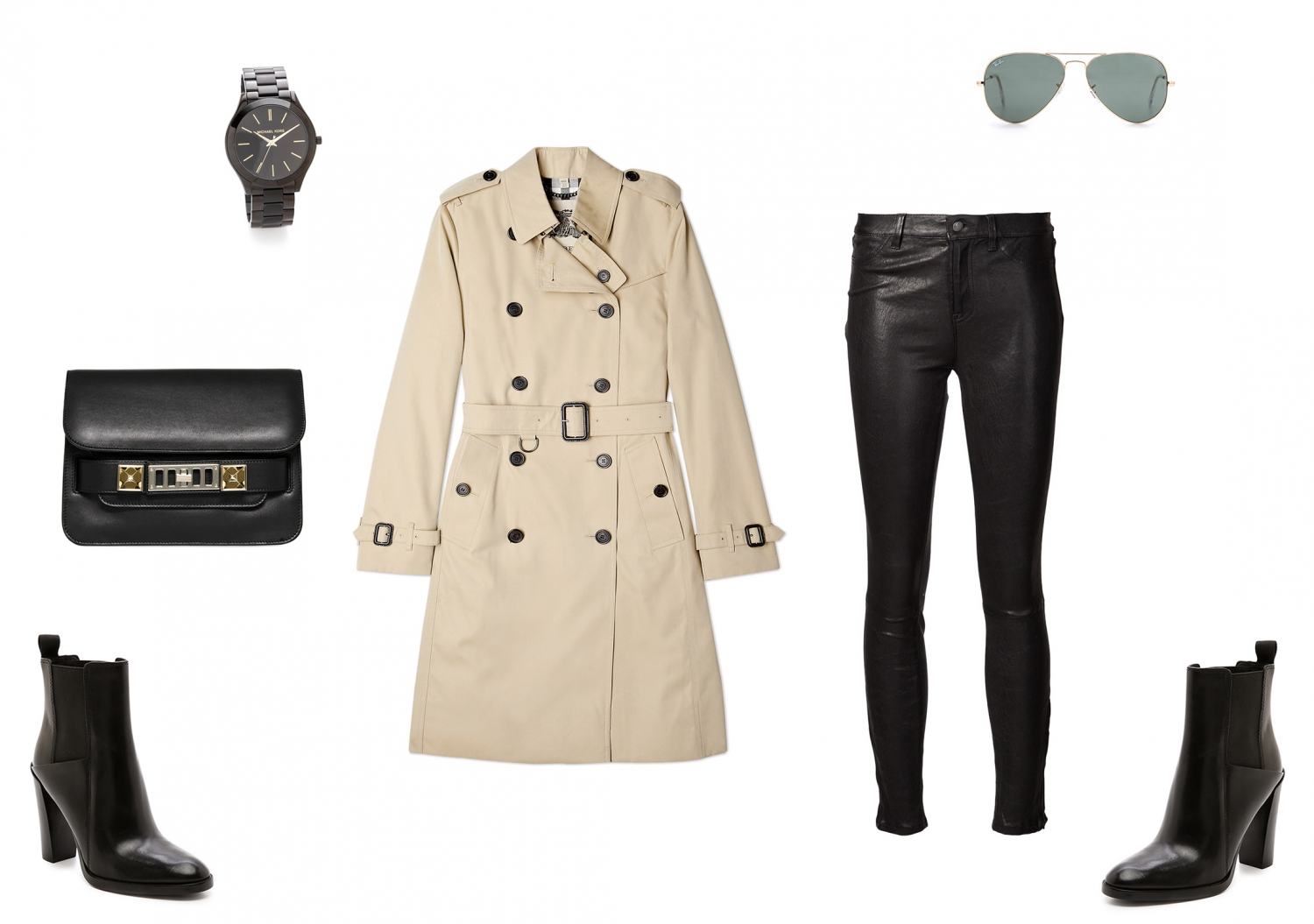 harper and harley_burberry coat_outfit_beige