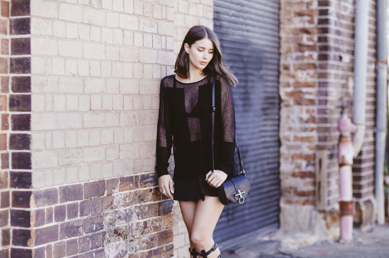harper and harley_scanlan theodore_schutz sandal boot_all black outfit_australian fashion blogger_2