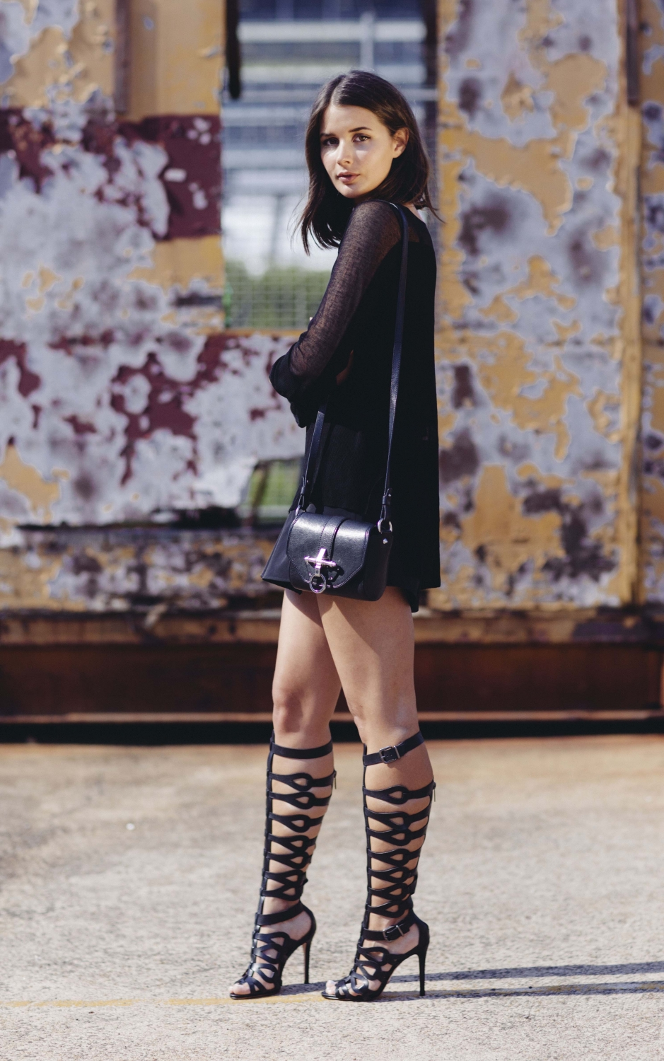 harper and harley_scanlan theodore_schutz sandal boot_all black outfit_australian fashion blogger_4