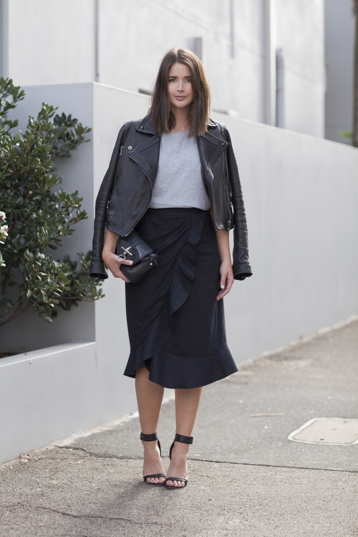 harper and harley-black and grey-leather jacket-isabel marant- minimal-1