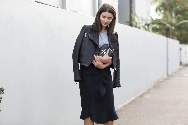 harper and harley-black and grey-leather jacket-isabel marant- minimal-3