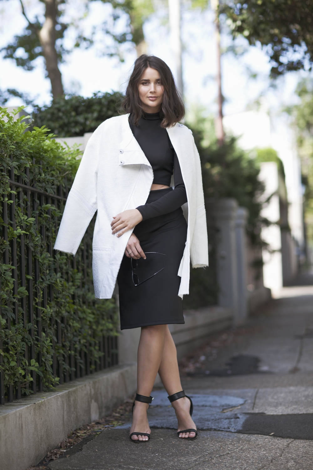 harper and harley_black and white_bassike_macgraw_crop_pencil skirt_1